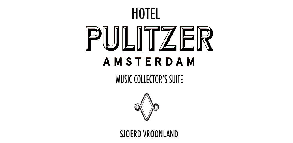 Website pagina Pulitzer Hotel tekst bovenin